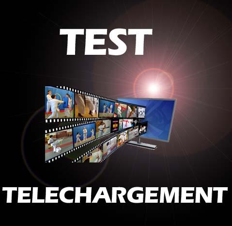 test de téléchargement