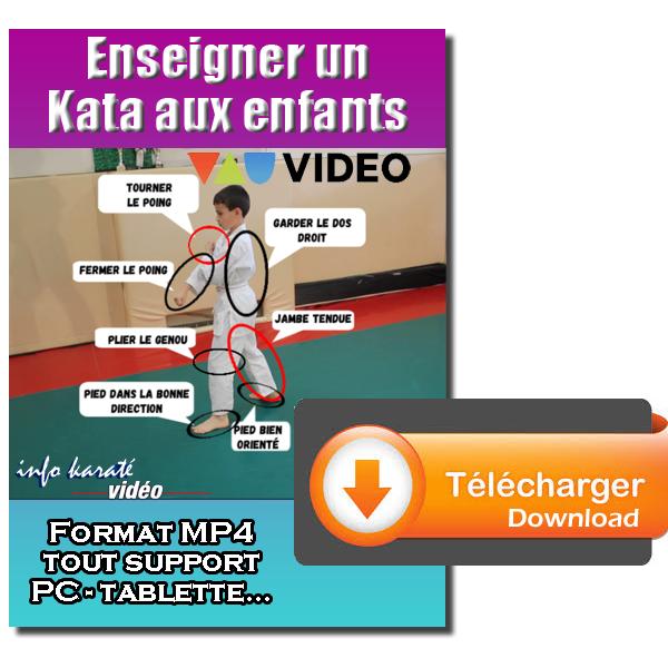 Enseigner un kata aux enfants en téléchargement